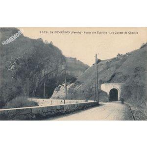 2676 Saint-Béron (Savoie) route des Echelles les gorges de Chailles