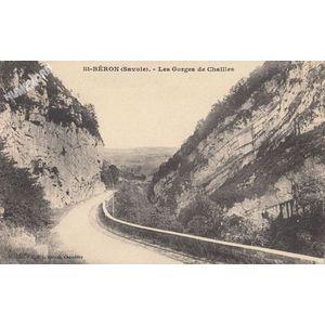 St-Béron (Savoie) les gorges de Chailles