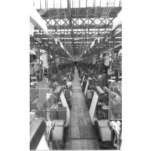 Voiron : métiers à tisser de l'usine JB Martin