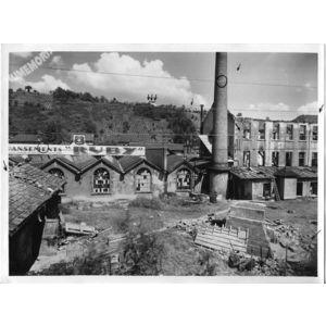Paviot incendie de Ruby suite aux bombardements de 1940