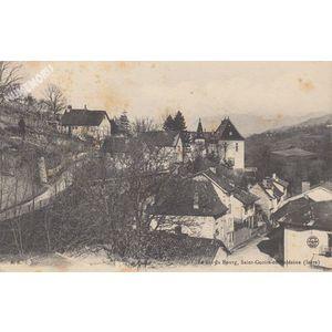 le bas du Bourg, Saint-Geoire-en-Valdaine (Isère)