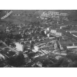 Voiron : vues aériennes de la DDE de 1970