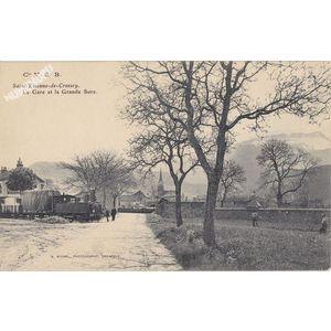 Cie VSB Saint-Etienne-de-Crossey la gare et la Grande Sure