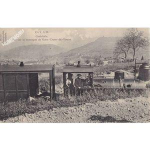 Cie VSB Coublevie vue sur la montagne de Notre-dame de Vouise