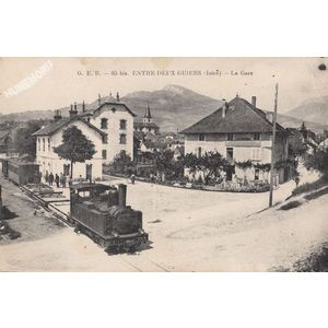 GEB 65 bis Entre deux Guiers (Isère) la Gare