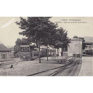 L'Isère Pittoresque Voiron Gare su C.-F.-D. de St-Beron