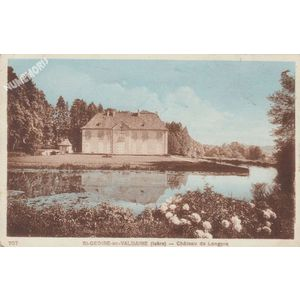707 St-Geoire-en-Valdaine (Isère) château de Longpra