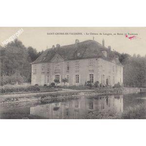 Saint-Geoire-en-Valdaine le château de Longpra, au baron de Franclieu