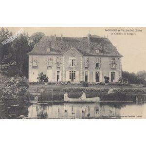 St-Geoire-en-Valdaine (Isère) le château de Longpra