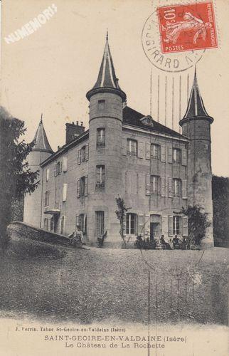 Château de Longpra St Geoire en Valdaine