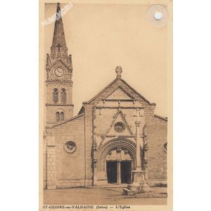 St-Geoire-en-Valdaine (Isère) l'Eglise