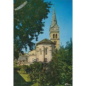 St-Geoire-en-Valdaine (Isère) Abside de l'Eglise et pied de la tour (XIe s.)