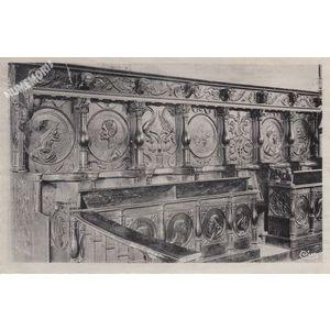 Saint-Geoire-en-Valdaine (Isère) stalles de l'Eglise (XVe siècle)