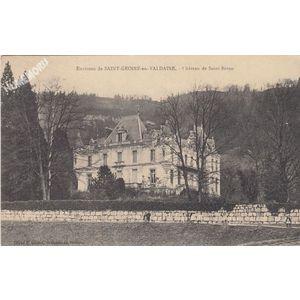 environs de Saint-Geoire-en-Valdaine château de Saint-Béron
