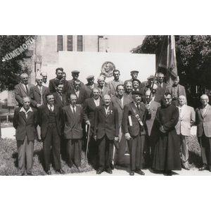 Montferrat : cerémonie du 8 mai 1962