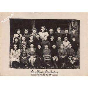 école de Montferrat en 1948
