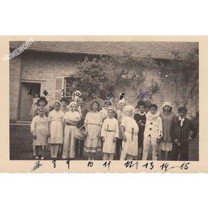 Montferrat : fête des écoles en 1948-49