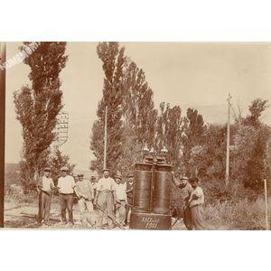 transformateur électrique de 1911
