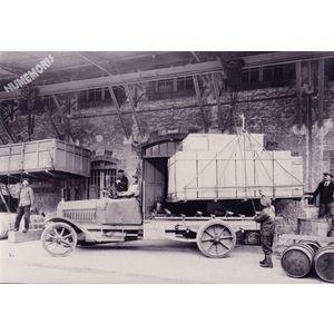 Rives : la Grande Fabrique chargement vers 1910