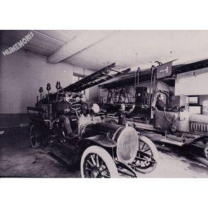 Rives : la Grande Fabrique les pompiers après 1908