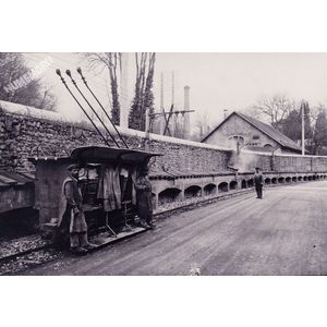 Rives : la Grande Fabrique transport des pates en 1903