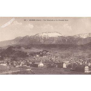 203 Voiron (Isère) vue générale et la Grande Sure