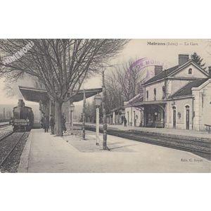 Moirans (Isère) la gare