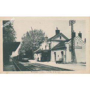 Moirans (Isère) intérieur de la gare
