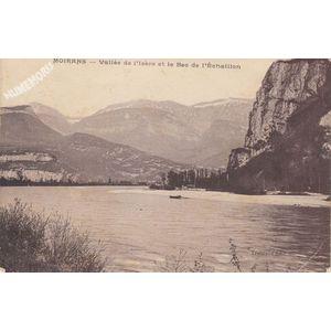 Moirans vallée de l'Isère et le Bec de l'Echaillon