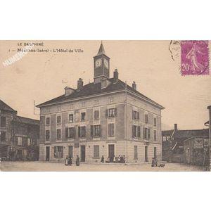 001 Moirans (Isère) l'Hôtel de Ville
