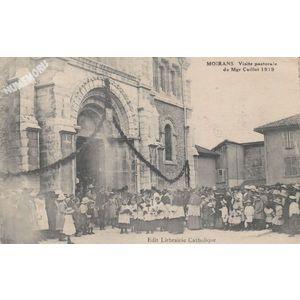 Moirans visite pastorale de Mgr Caillot 1919