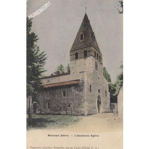 Moirans (Isère) l'ancienne Eglise