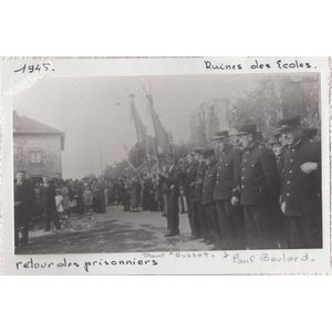 Saint Blaise du Buis : retour des prisonniers en 1945