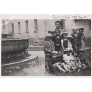 Saint Blaise du Buis : élèves de Mlle Volle en 1938