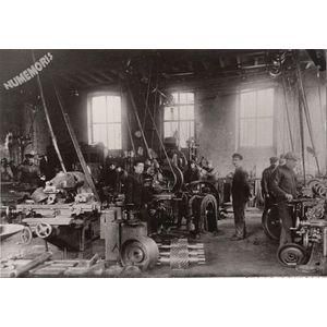 l'atelier de mécanique à Bonpertuis en 1935