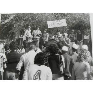 Saint Blaise du Buis : inter-villages dans les années 80