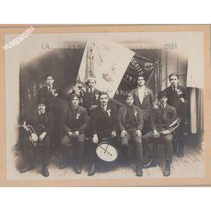 conscrits de la Buisse en 1921
