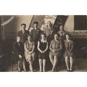 conscrits de la Buisse en 1930