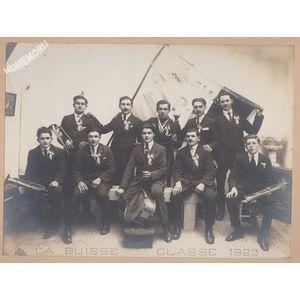 conscrits de la Buisse en 1923