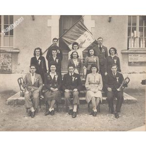 conscrits de la Buisse en 1946