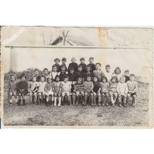 la Buisse : école en 1946