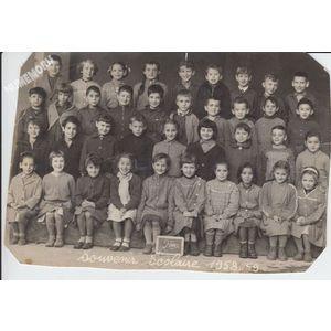la Buisse : école en 1958-59