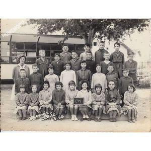 la Buisse : école en 1963-64