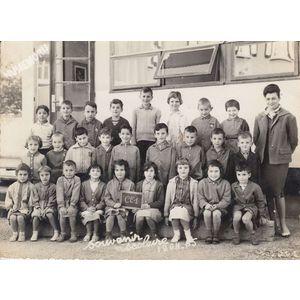 la Buisse : école en 1964-65
