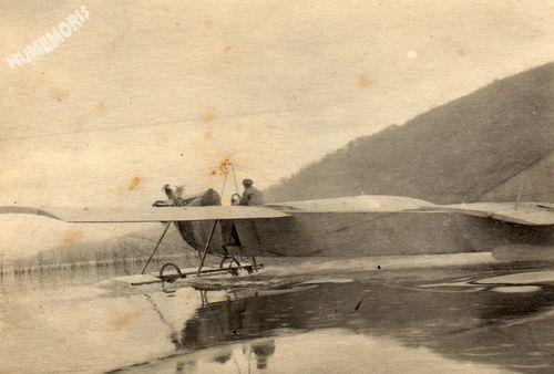 Charavines : les avions