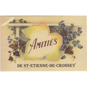 Amitiés de St-Etiennede-Crossey