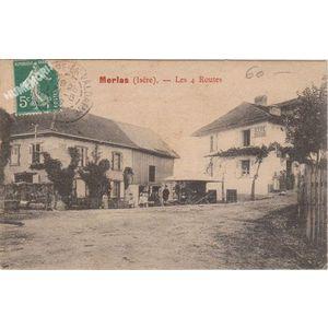 Merlas (Isère) les 4 routes