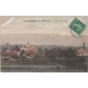 la Chapelle de Merlas (Isère) vue générale