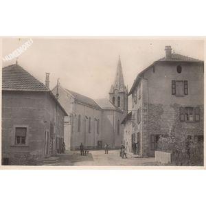 St Sulpice-des-Rivoires (Isère) le centre