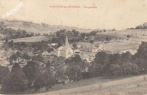 Saint Sulpice des Rivoires cp